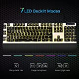 7-LED-Backlits-10-Million-Clicks-Gaming-Keyboard-VicTsing-Programmable-Mechanical-Feel-Gaming-Keyboard-with-Programmable-Keys-and-Multimedia-Function-Key-For-Gamer-Typists