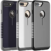 3-Pack iSPECLE iPhone 8 Cases iPhone 7 Covers Protective Shell