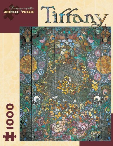 Cheap Pomegranate Tiffany: Butterfly Window Jigsaw Puzzle (B000C21MR6)