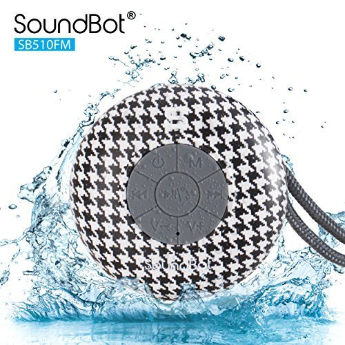 Buy Cheap SoundBot® SB510FM FM RADIO Water Resistant Bluetooth Wireless Shower Speaker HandsFree Po...