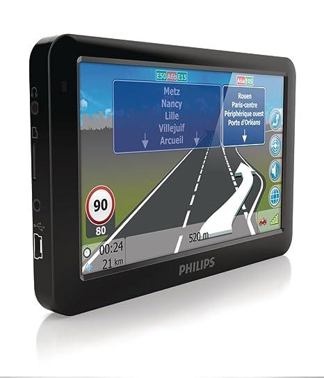 Philips PNS 510 GPS Eléments Dédiés à la Navigation Embarquée Europe Fixe, 16:9
