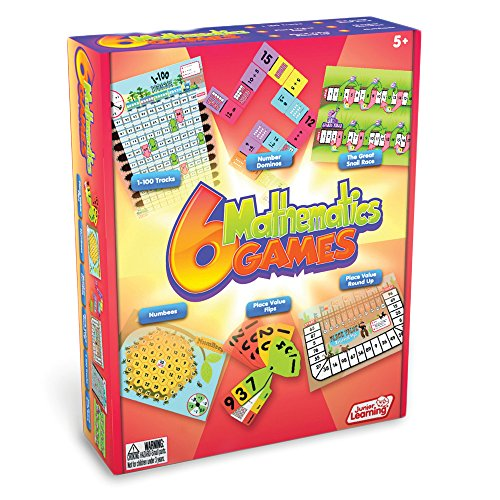 Junior Learning Different Mathematics Games (Set of 6) (Place Value Games compare prices)