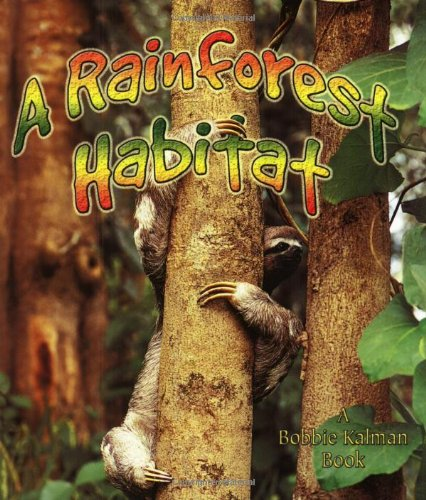 A Rainforest Habitat (Paperback) (Introducing Habitats)