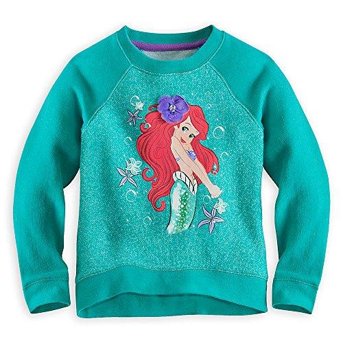 disney-store-ariel-little-mermaid-flower-power-sweatshirt-pullover-for-girls-size-9-10