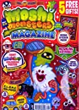 MOSHI MONSTERS MAGAZINE MOSHI MONSTERS MAGAZINE ~ ISSUE 28 ~ 5 FREE GIFTS ~ MOSHLING COLOURING POSTER / RED STICKER PACK & MORE
