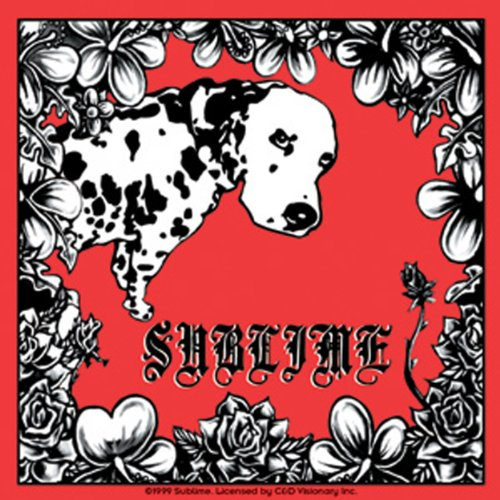 Licenses Products Sublime Lou Dog Sticker