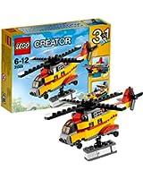 Lego Creator - 31029 - Jeu De Construction - L'hélicoptère Cargo