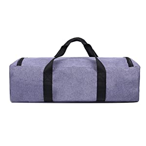 LLYWCM Lightweight Carrying Bag Compatible with Cricut Explore Air, Cricut Maker and Cricut Explore Air 2, Foldable Travel Tote Case for Die-Cut Machines Accessories and Supplies (A - Purple) (Color: Purple)