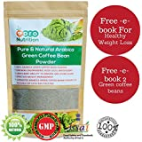 PURE ARABICA GREEN COFFEE BEAN POWDER 500 GRAMS NATURAL SUPPLEMENTS CONTAINS CHLOROGENIC ACID