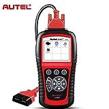 Autel OBD2 Scanner AutoLink AL619 Car Diagnostic Tool, Code Reader with ABS/SRS Diagnostic Scan Tool, Turns Off Engine Light (MIL) and ABS/SRS Warning Lights