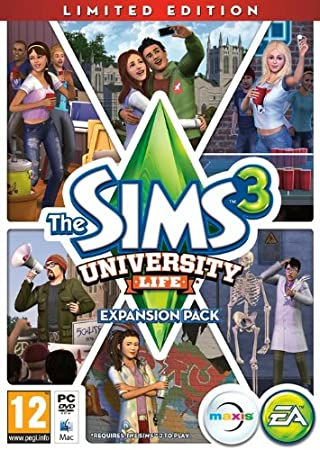 The Sims 3: University Life Limited Edition (PC DVD)