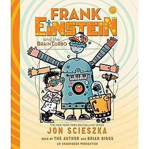 Frank Einstein and the BrainTurbo Audiobook