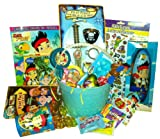 Disney Junior's ~ Jake and the Neverland Pirates ~ Filled Easter Basket
