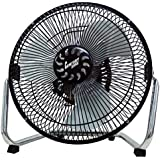 Comfort Zone CZHV9B 9-Inch 3 Speed High Velocity Cradle Fan