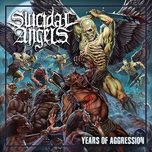 Vinilo : SUICIDAL ANGELS - Years Of Aggression