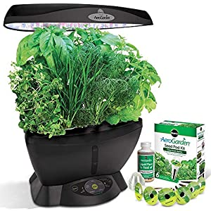 Miracle-Gro AeroGarden 6 LED with Gourmet Herb Seed Pod Kit