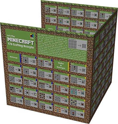 Lets-Play-MINECRAFT-178-Crafting-Rezepte-bersichtskarte-mitp-Anwendungen