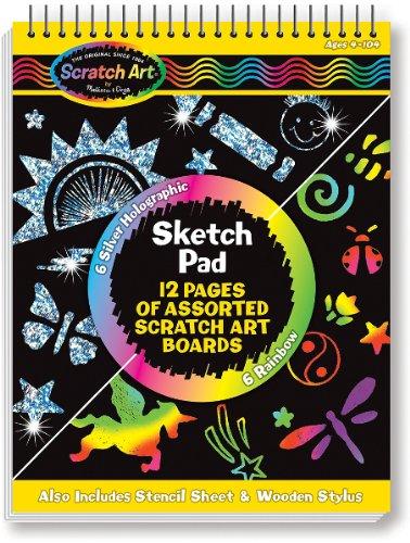 Scratch Art Sketch Pad SKU-PAS1124167