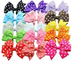Qandsweet Baby Girl Ribbon Grosgrain...