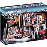 Playmobil 4875 - Cuartel General de Agentes Secretos con Sistema de Alarma