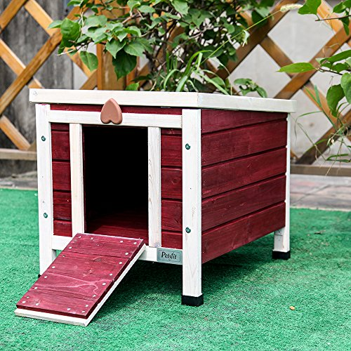 Petsfit-Outdoor-Kitty-HouseCat-Shelter-Small-For-Cat-Under-15LBS