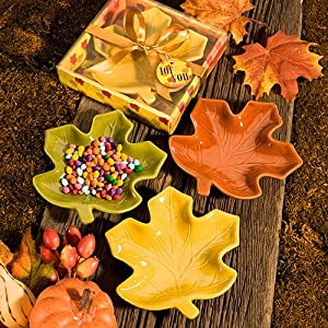 Autumn/Fall Wedding Favors: Candy Dishes