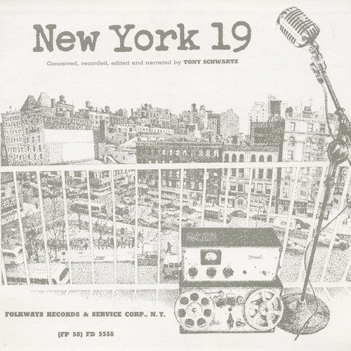 CD : TONY SCHWARTZ - New York 19