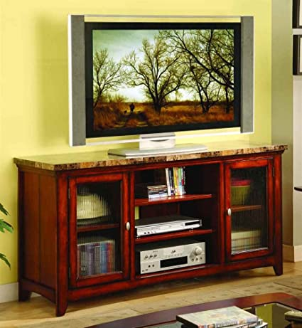 TV Stand in Cherry Finish