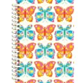 Lang Perfect Timing Wells Street Butterflies Spiral Journal, 6.5 x 8.5 Inches, 120 Sheets, 240 Lined Pages for Writing, 1 Journal (9000502)