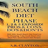 Download South Beach Diet Phase 1, 2 & 3 Exposed!: Pros & Cons. Do's & Don'ts