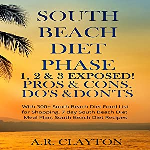 South Beach Diet Phase 1, 2 & 3 Exposed! Audiobook