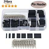 Haitronic 310pcs 2.54mm Male Female Dupont Wire Jumper pin Header sockets Connector Housing Kit