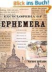 Encyclopedia of Ephemera: A Guide to...