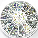 AllRight 300Pcs 6 Taille Faux Diamant...
