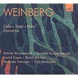 Concerto pour violoncelle et orchestre et ut mineur, op. 43 - Concerto pour violon et orchestre en sol mineur, op. 67 - Concerto pour flûte et orchestre à cordes en ré mineur, op. 75