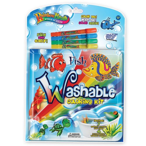 Rainbow Brush Colorful Fish