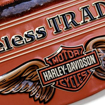 #2010781 Ande Rooney Harley Davidson Timeless Tradition Metal Sign