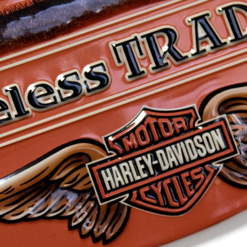 #2010781 Ande Rooney Harley Davidson Timeless Tradition Metal Sign 2