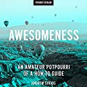 Awesomeness: An Amateur Potpourri of a How-to Guide Audiobook by Andrew Syrios Narrated by Jacob York