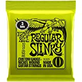 Ernie Ball 3221 Regular Slinky Nickel Wound Sets, .010 - .046 (3 Pack)
