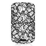 Head Case Designs Floral Black and White Pattern Case for BlackBerry Bold Touch 9900
