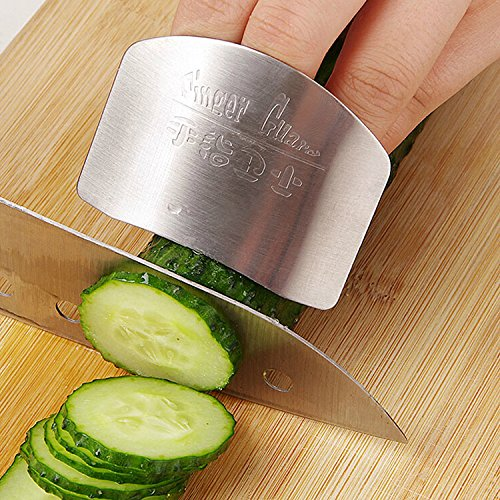 Kitchen Cooking Tools Stainless Steel Finger Hand Protector Guard Personalized Design Chop Safe Slice Knife^. (Rachel Ray Cookware Lazy compare prices)