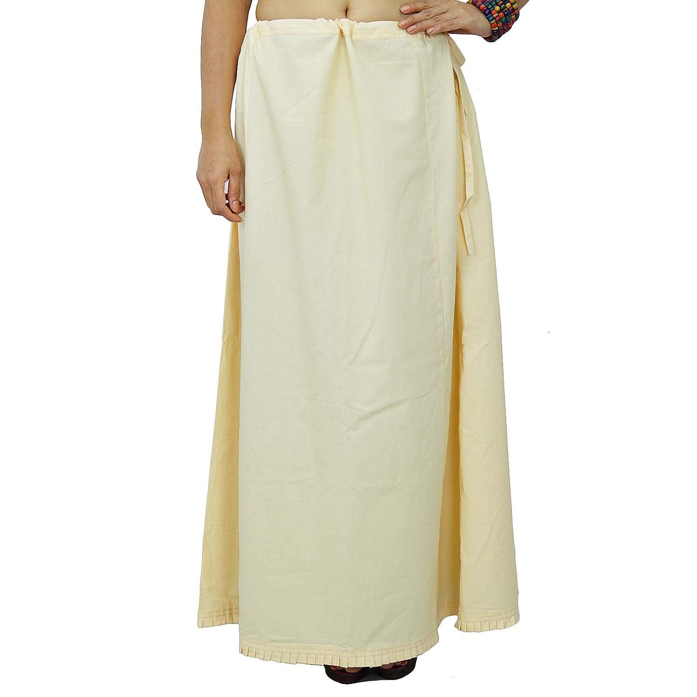 Solide Petticoatunderskirt Bollywood Indian Cotton-Futter für Sari günstig kaufen