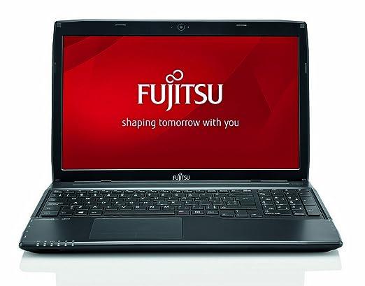 "Fujitsu A544 Ordinateur Portable 15.6 "" 500 Go Windows 7 Professional Noir"