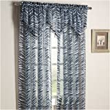 Black and White Zebra Print Sheer Curtain Panels