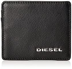 Diesel Men's Jem Wallets Johnas, Black, One Size