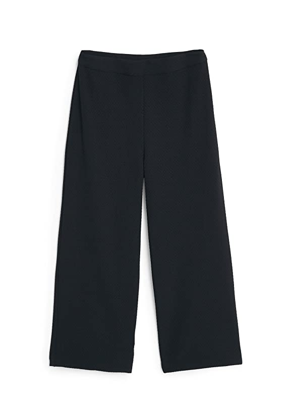 Mango Women's Textured Cropped Trousers