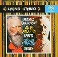 Brahms : Concerto pour violon Op.77 - Tchaïkovsky : Concerto pour violon Op.35