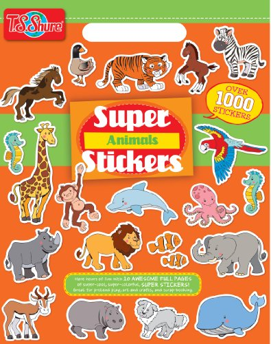 T.S. Shure Animals Super Sticker Book