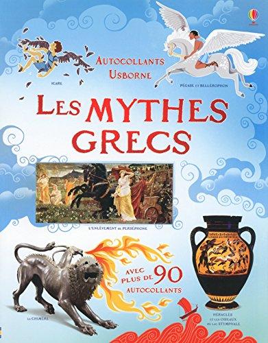 Les mythes grecs (Autocollants Usborne)